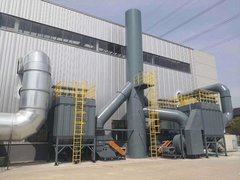 大型工程机械配套企业系统环保工程